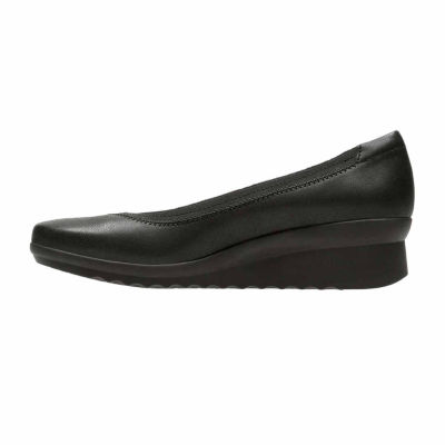 Clarks Caddell Dash Womens Slip-On Shoes
