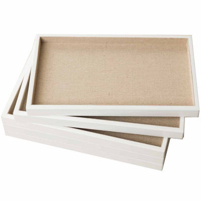 Hives & Honey White 5-Piece Stackable Trays