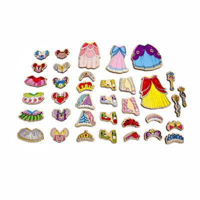 Dress Up Dolls 48-pc. Table Game