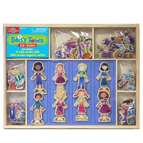 Dress Up Dolls Puzzle