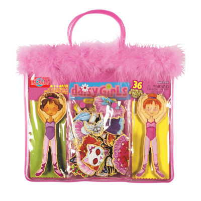 Dress Up Dolls 40-pc. Table Game