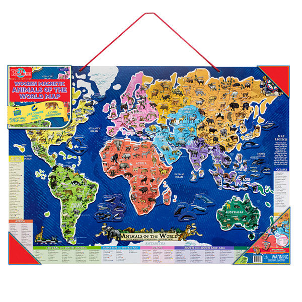 Wooden toys magnetic toys educational maps puzzle jcpenney wooden toys magnetic toys educational maps puzzle sciox Gallery