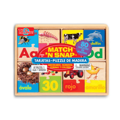 Learn Alphabet; Learn Numbers; Bilingual Toys; Puzzles 3-pc. Puzzle
