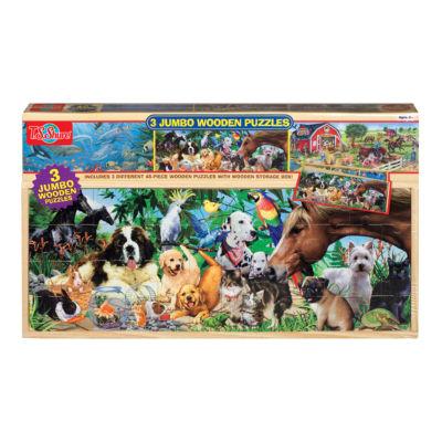 Puzzle Sets 3-pc. Puzzle