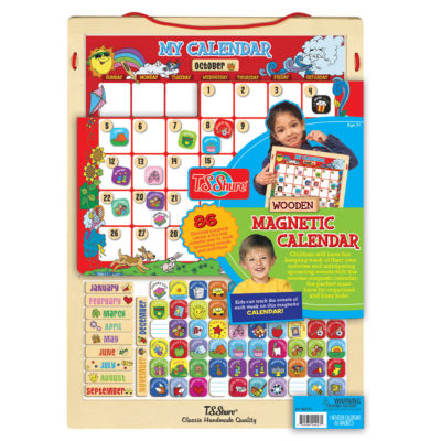 Wooden Toys - Magnetic Toys - Learning Puzzle