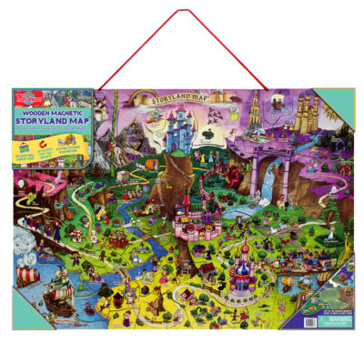 Puzzles; Educational Maps Puzzle