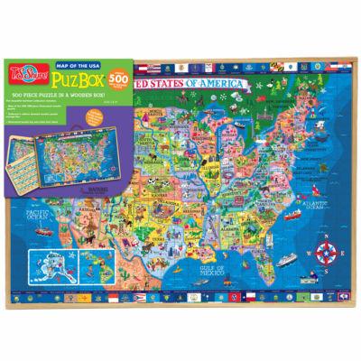 Puzzles; Educational Maps Puzzle