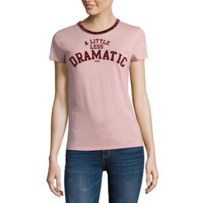 """Arizona """"Less Dramatic"""" Graphic T-Shirt- Juniors"""
