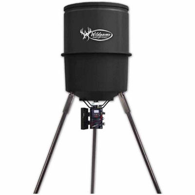 Wildgame Innovations Quick Set 270# 40 Gallon Feeder- Timer