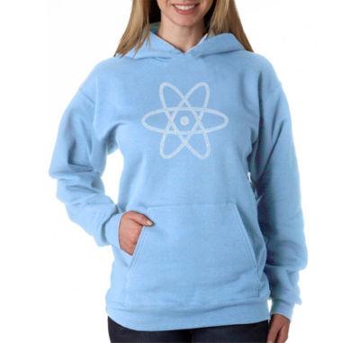 Los Angeles Pop Art Atom Womens Sweatshirt