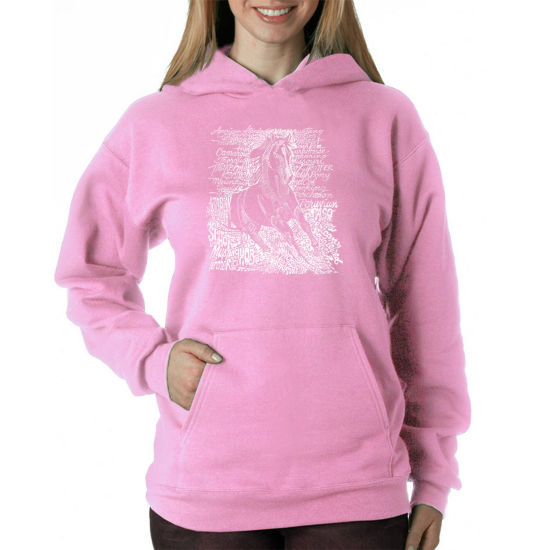 Los Angeles Pop Art Popular Horse Breeds Sweatshirt