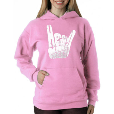 Los Angeles Pop Art Heavy Metal Sweatshirt