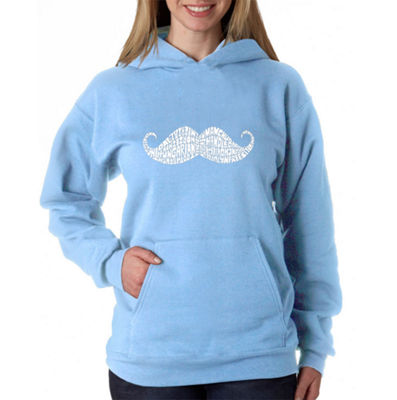 Los Angeles Pop Art Ways To Style A Moustache Sweatshirt