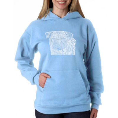 Los Angeles Pop Art Pug Face Sweatshirt