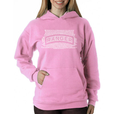 Los Angeles Pop Art The Us Ranger Creed Womens Sweatshirt