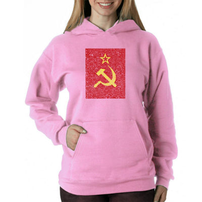 Los Angeles Pop Art Lyrics To The Soviet National Anthem Sweatshirt