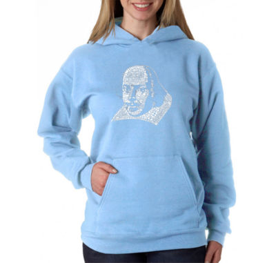 Los Angeles Pop Art The Titles Of All Of William Shakespeare's Comedies & Tragedies Sweatshirt