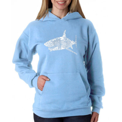 Los Angeles Pop Art Species Of Shark Sweatshirt