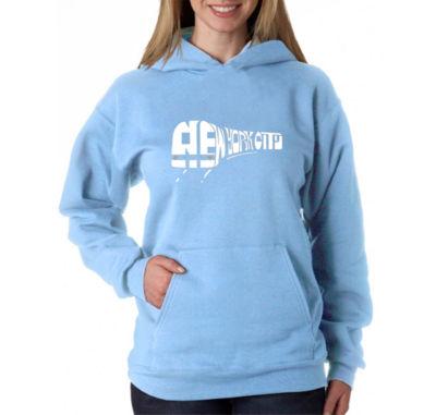 Los Angeles Pop Art Ny Subway Womens Sweatshirt