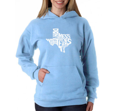 Los Angeles Pop Art Dont Mess With Texas Sweatshirt