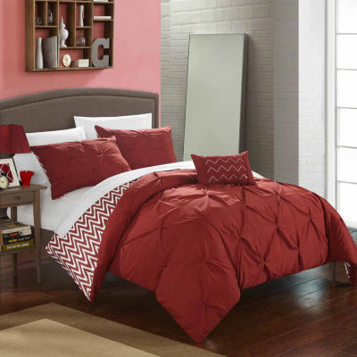 Chic Home Jacky 8-pc. Midweight Reversible Comforter Set