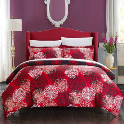 Chic Home Jerome 7-pc. Duvet Cover Set
