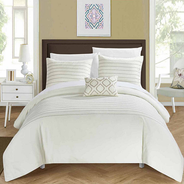 Chic Home Bea 8-pc. Duvet Cover Set