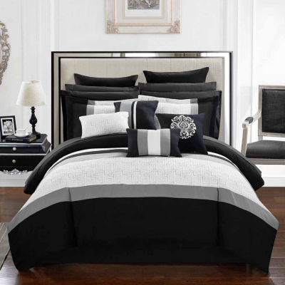 Chic Home Pisa 16-pc. Midweight Comforter Set