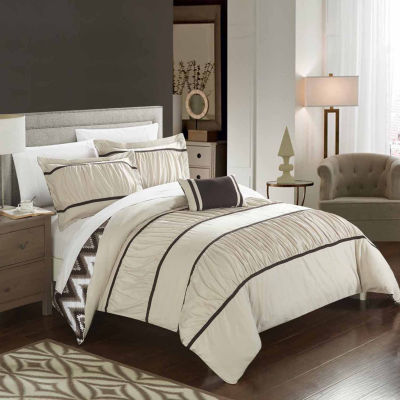 Chic Home Bella Midweight Reversible Comforter Set