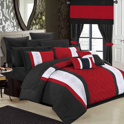 Chic Home Danielle 24-pc. Midweight Comforter Set