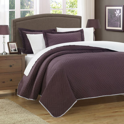 Chic Home Palermo Quilt Set