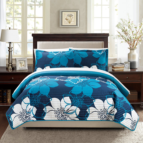 Chic Home Woodside 7-pc. Quilt Set