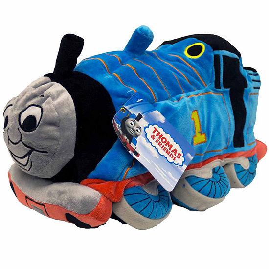 Thomas The Tank Square Throw Pillow