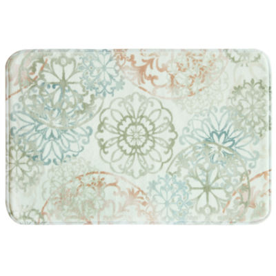 Bacova Guild Kaleidoscope Memory Foam Bath Rug