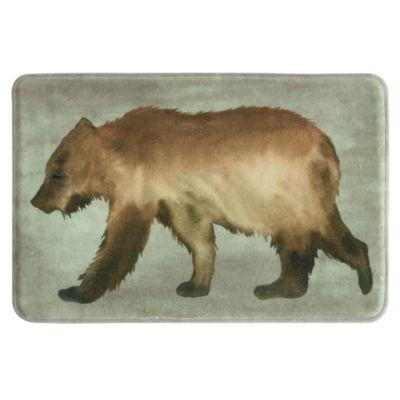 Bacova Guild Bear Memory Foam Bath Rug