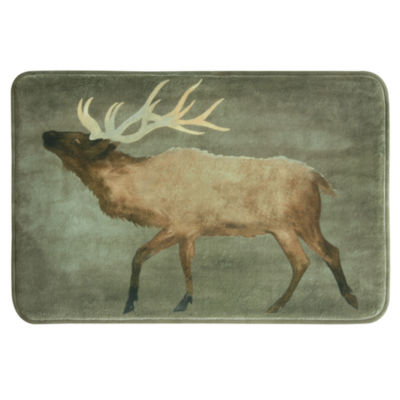Bacova Guild Elk Memory Foam Bath Rug