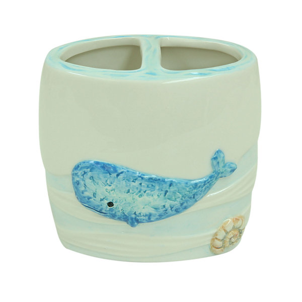 Bacova Guild Sea Splash Toothbrush Holder