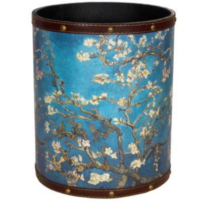 Oriental Furniture Van Gogh Autumn Blossom Waste Basket