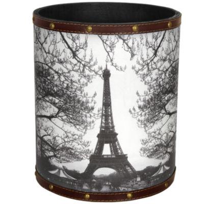 Oriental Furniture Eiffel Tower Waste Basket