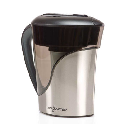 ZeroWater 8-cup Stainless Steel Pitcher with Free TDS