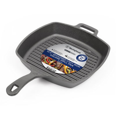 Westinghouse Cast Iron Grill + Griddle Combo