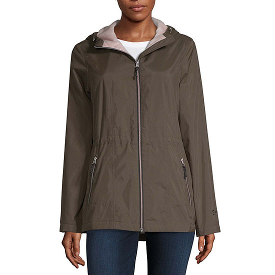 Free Country Hooded Water Resistant Lightweight Anorak