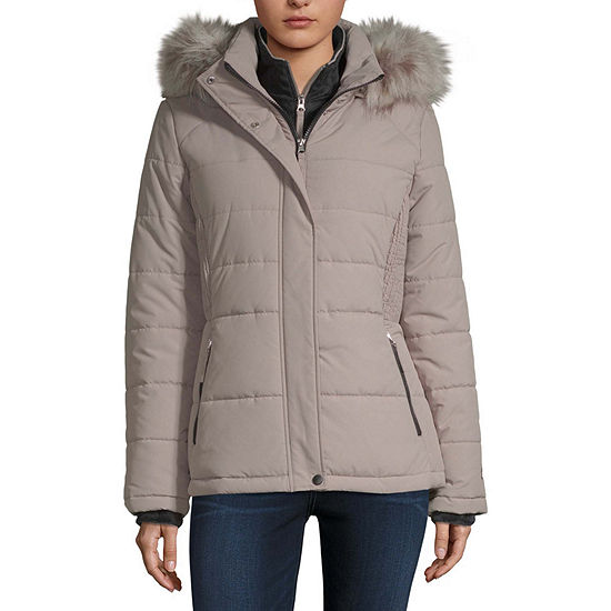 Free Country Hooded Heavyweight Puffer Jacket