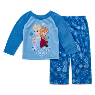 Disney Frozen Family Girls 2 Piece Pajama Set - Toddler