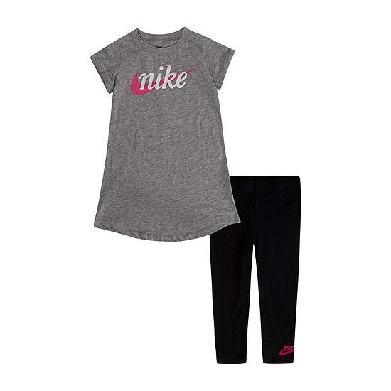 Nike 2 Pc Legging Set Toddler Girls