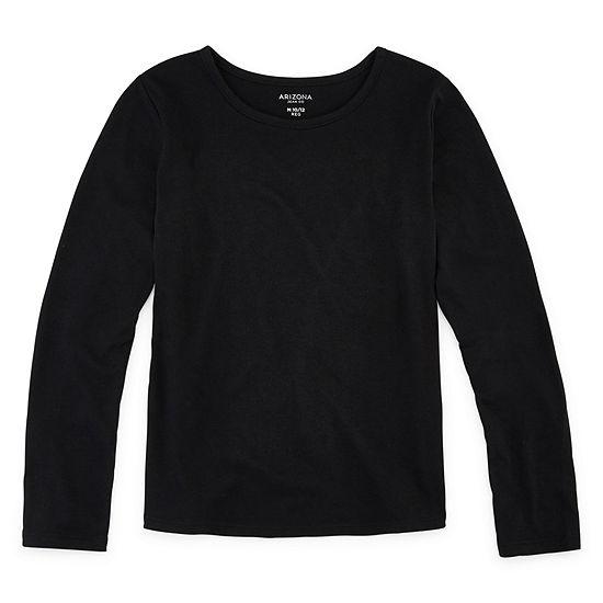 Arizona Girls Round Neck Long Sleeve Graphic T-Shirt