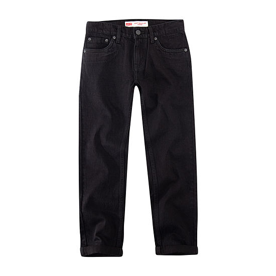 Levi's Boys Made For Your Sneaker 502 Slim Fit Jean Big Kid