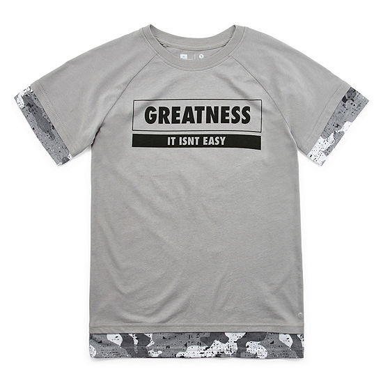 Xersion Boys Crew Neck Short Sleeve Graphic T-Shirt - Preschool / Big Kid