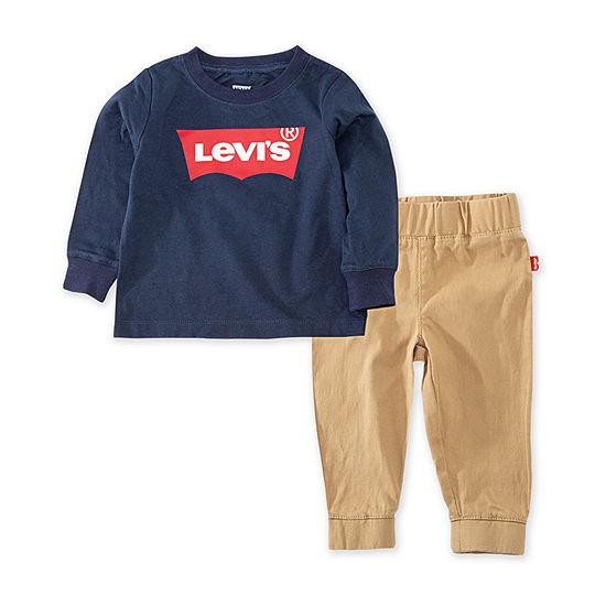 Levi's Toddler Boys 2-pc. Pant Set