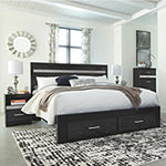 Signatue Design by Ashley® Starberry King Panel Bed with Storage